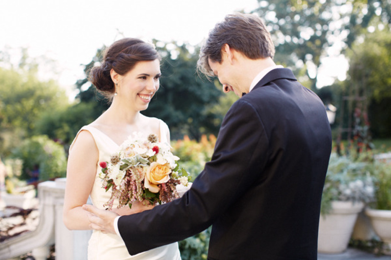 Brooklyn Botanic Garden Wedding from Alexandra Meseke Photography