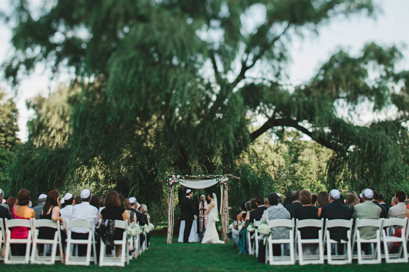 Brooklyn Botanic Garden Wedding from Lev Kuperman
