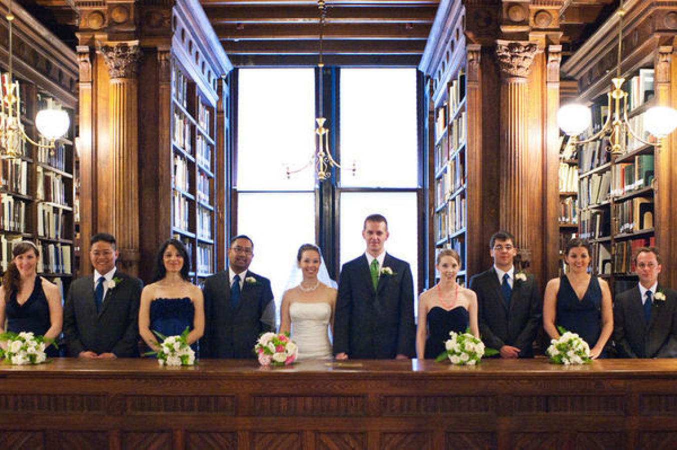 Charming Brooklyn Library Wedding by Oh, Darling! Photography