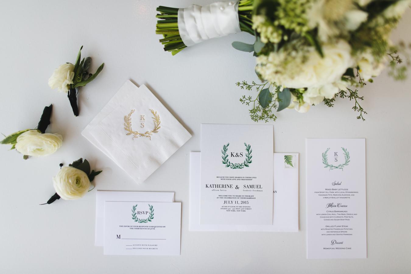 Elegant + Modern Summer Wedding in New York City