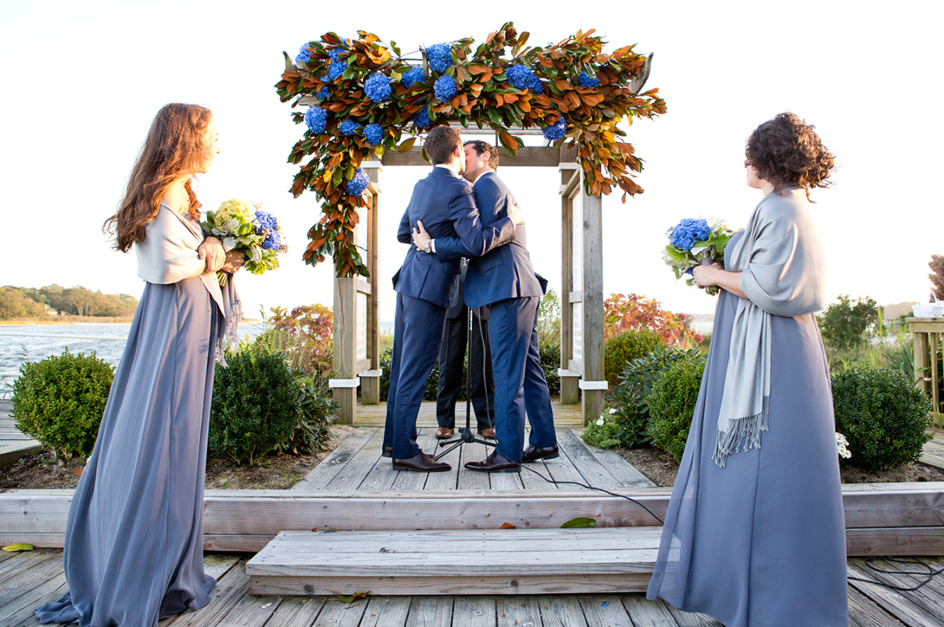 Intimate Wedding in the Hamptons at Trumpets