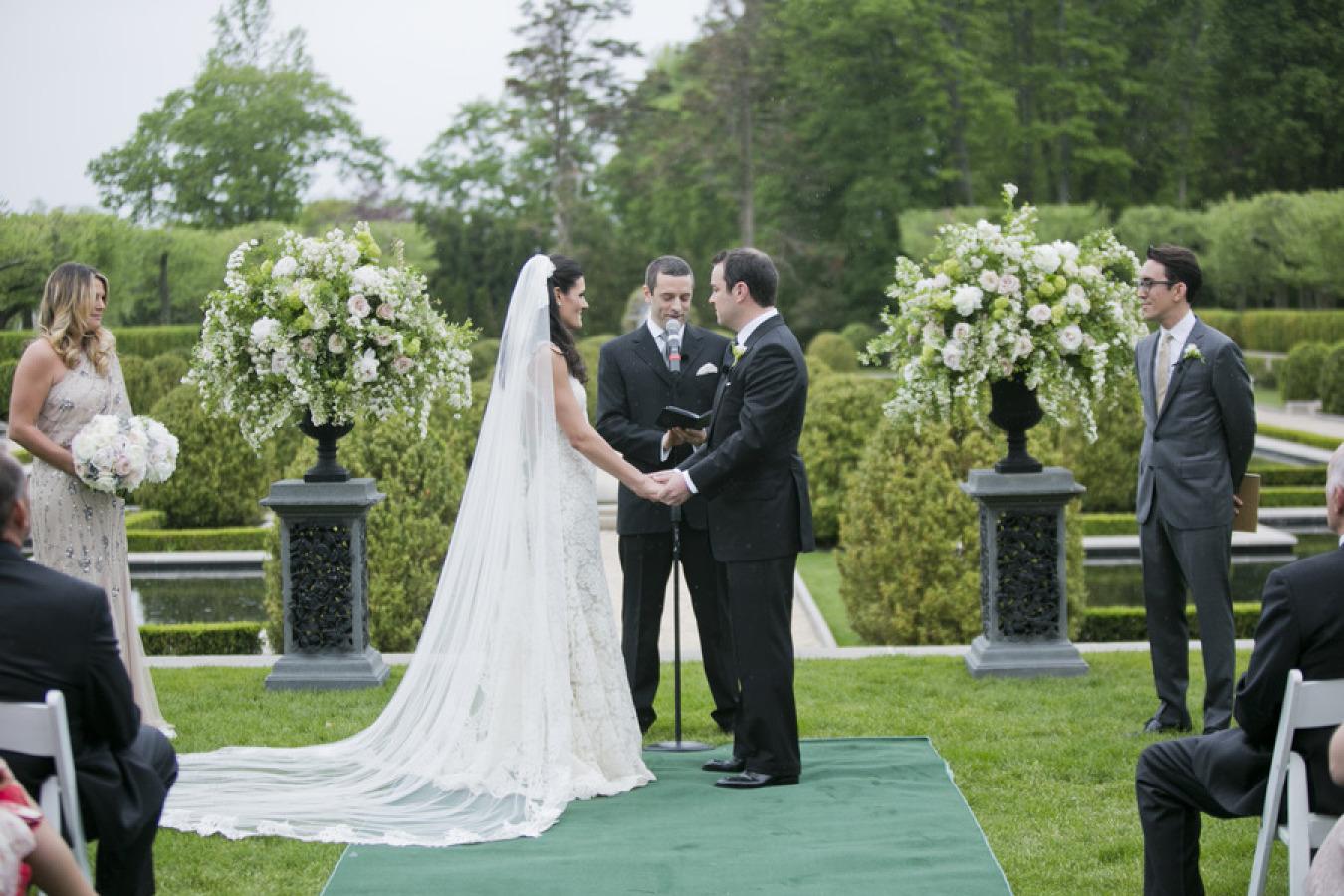 Oheka Castle Wedding from Mel Barlow + DM Events