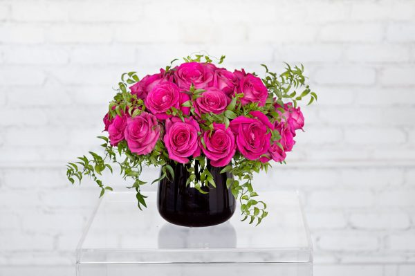 Pink Floyd floral arrangement by Rebecca Shepherd Floral Design