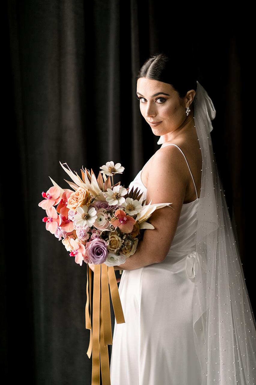 Luisa & Nathan wedding by Rebecca Shepherd Floral Design